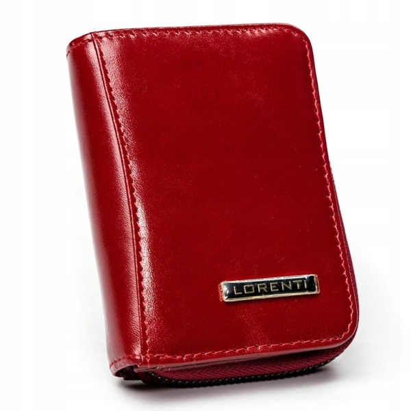 Damen Ledergeldbörse Rot 2909