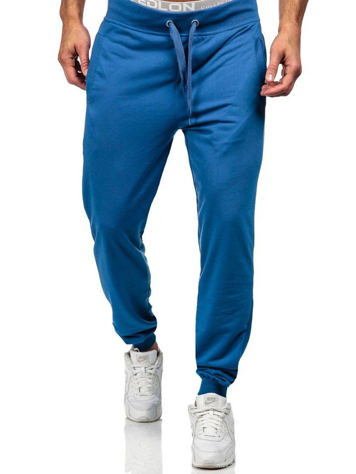 geeignet für Männer/Frauen erstklassig speziell für Schuh Bolf Herren Sporthose Blau 7053