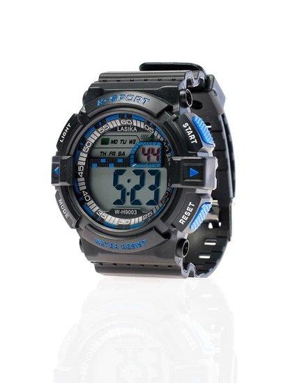 Bolf Armbanduhr Schwarz-Blau 9003