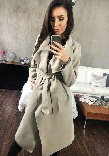 Bolf Frauen Mantel Beige 1729