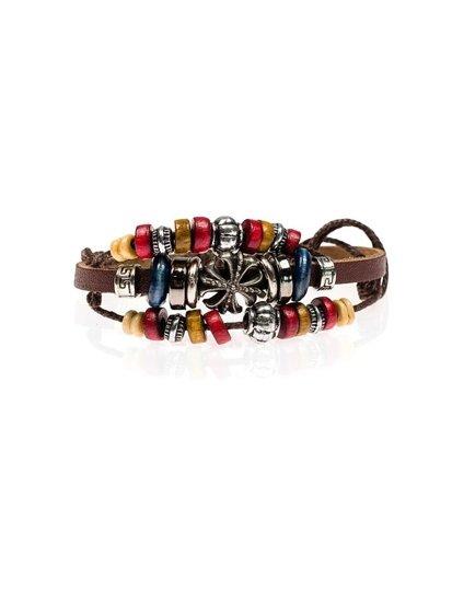 Bolf Herren Armband Braun B092