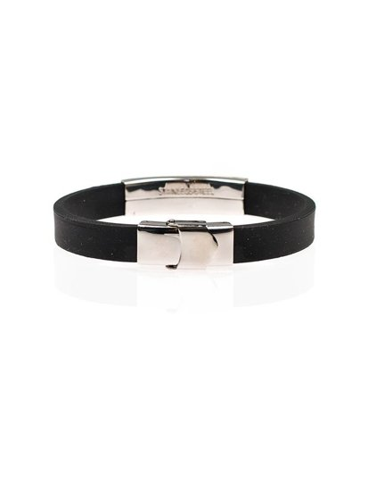 Bolf Herren Armband Schwarz B065