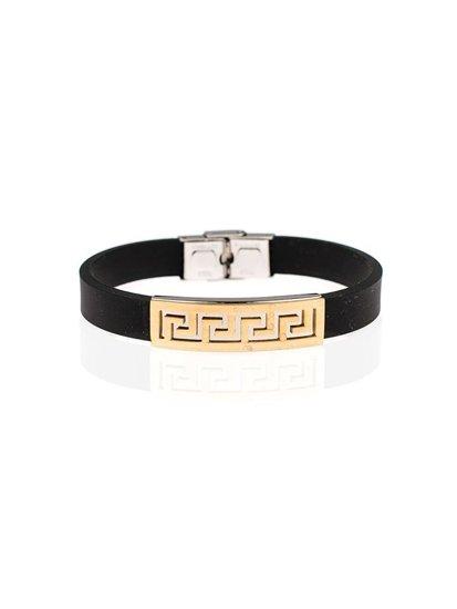 Bolf Herren Armband Schwarz B067