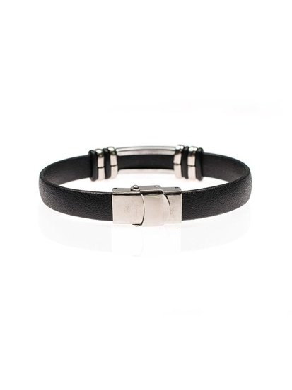 Bolf Herren Armband Schwarz B073