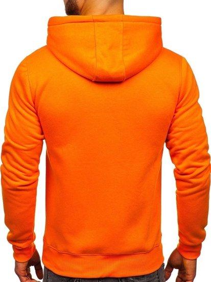 Bolf Herren Kapuzenpullover Orange  2009