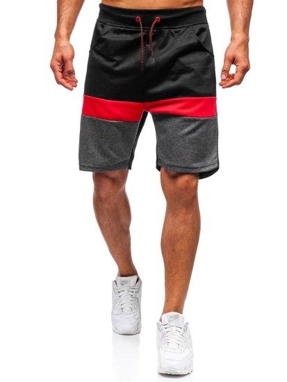 helle n Farbe Bestbewertete Mode bestbewertetes Original Bolf Herren Kurze Sporthose Schwarz 81017