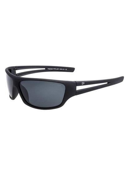 Bolf Herren Polaristionssonnenbrille Schwarz PLS32