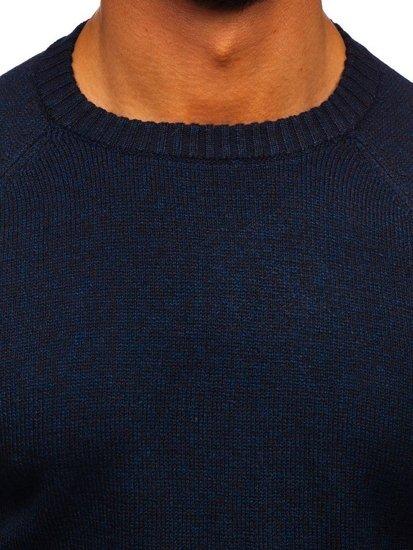 Bolf Herren Pullover Dunkelblau H1929