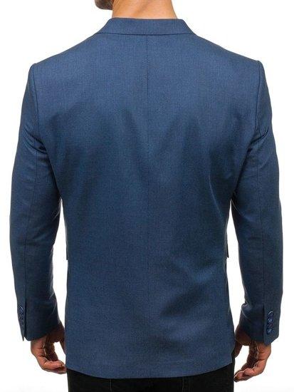 Bolf Herren Sakko Elegant Blau  1050