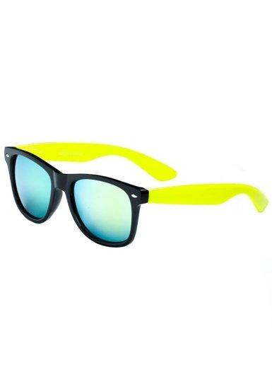 Bolf Herren Sonnenbrille Schwarz-Gelb CO868