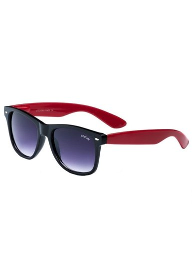 Bolf Herren Sonnenbrille Schwarz-Rot CO867