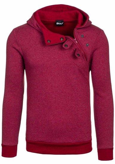 Bolf Herren Sweatshirt Weinrot 06S