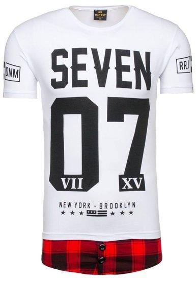 Bolf Herren T-Shirt Weiss 5112