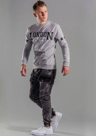 Styling Nr.51 - Sweatshirt, Jogger-Hose, Schuhe