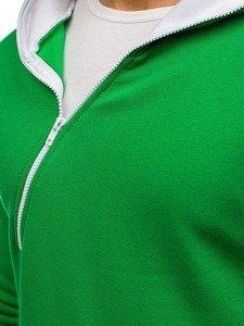 Bolf Herren Kapuzenpullover Grün PAUL