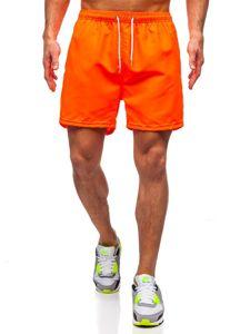 Bolf Herren Kurze Hose Badeshorts Orange  ST001