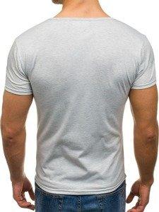 Bolf Herren T-Shirt Grau 2007