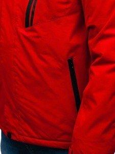 Bolf Herren Winterjacke Skijacke Rot  HZ8107
